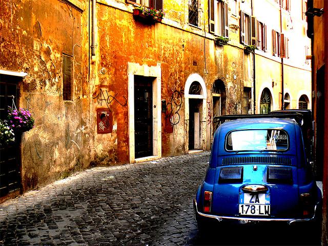 Trastevere-street-rome