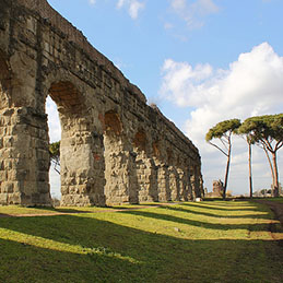 APPIAN WAY & ANCIENT AQUEDUCTS