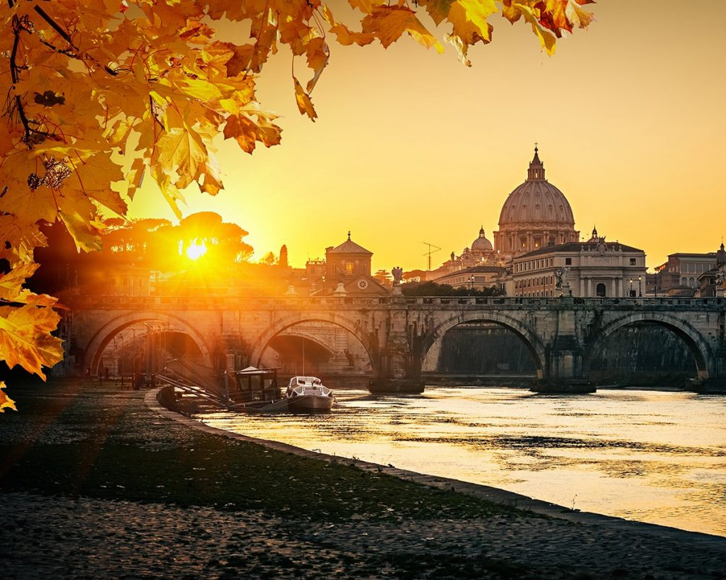 rome-sunset-view